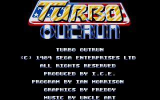 Screenshot of Turbo OutRun