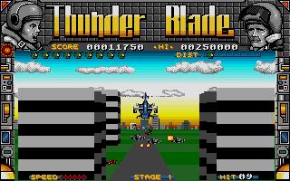 Screenshot of Thunderblade