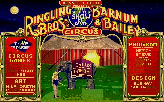 Thumbnail of other screenshot of Circus Games