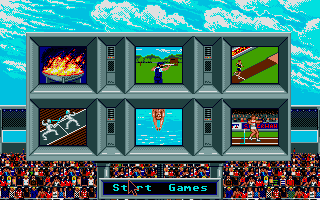 Screenshot of Summer Olympiad