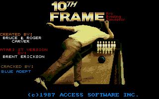 Screenshot of 10th Frame