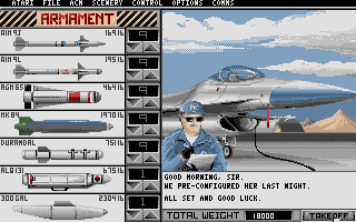 Thumbnail of other screenshot of Falcon Mission Disk 1