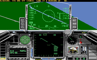 Screenshot of Falcon Mission Disk 1