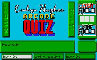 Screenshot of Emlyn Hughes Arcade Quiz