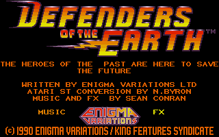 Screenshot of Defenders of the Earth