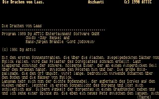 Thumbnail of other screenshot of Drachen von Laas, Die