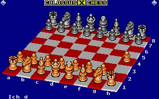Screenshot of Colossus Chess X