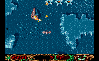 Screenshot of Wings of Death