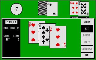 Thumbnail of other screenshot of Blackjack Plus 3