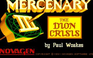 Screenshot of Mercenary 3 - The Dion Crisis