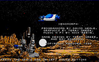 Screenshot of Xenomorph