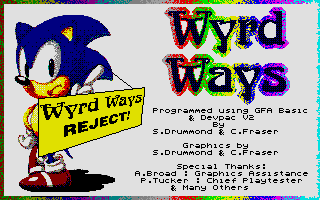 Thumbnail of other screenshot of Wyrd Ways