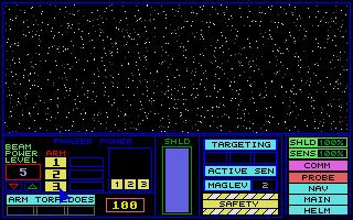 Screenshot of Star Trek - The Klingon War