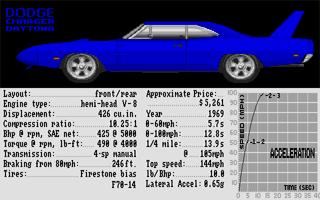 Screenshot of Test Drive II - Muscle Cars
