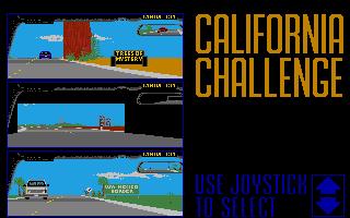 Screenshot of Test Drive II - California Challenge