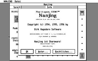 Screenshot of Nanjing