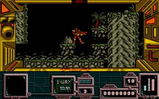 Screenshot of Zone Warrior