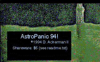 Thumbnail of other screenshot of AstroPanic 94!