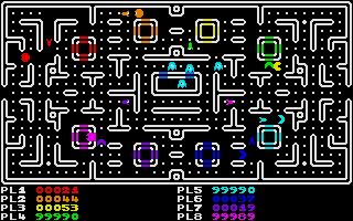 Screenshot of Pacmen