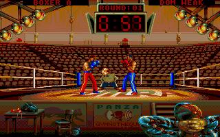 Screenshot of Panza Kick Boxing