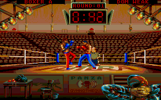 Screenshot of Panza Kick Boxing