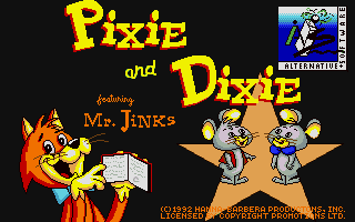 Thumbnail of other screenshot of Pixie and Dixie
