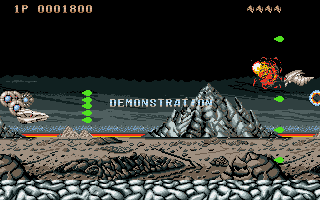 Screenshot of Saint Dragon