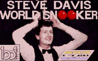 Screenshot of Steve Davis World Snooker