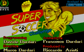 Thumbnail of other screenshot of Super Soccer Challenge