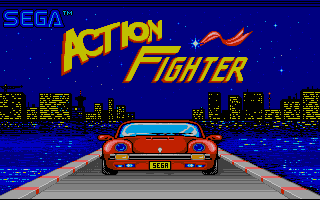 Screenshot of Action Fighter