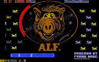 Thumbnail of other screenshot of ALF - The First Adventure