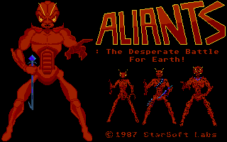 Thumbnail of other screenshot of Aliants - The Desperate battle for Earth