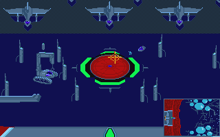 Screenshot of Aliants - The Desperate battle for Earth