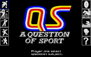 Thumbnail of other screenshot of Question Of Sport, A
