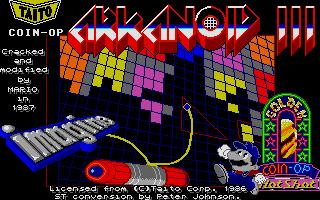 Screenshot of Arkanoid 3