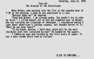 Thumbnail of other screenshot of Baker Street Detective