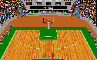 Thumbnail of other screenshot of GBA Championship Basketball Two on Two