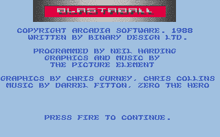 Thumbnail of other screenshot of Blastaball