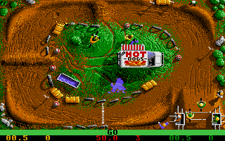 Screenshot of BMX Simulator
