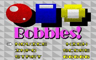Screenshot of Bobbles!