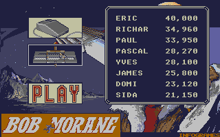 Screenshot of Bob Morane - Science-Fiction