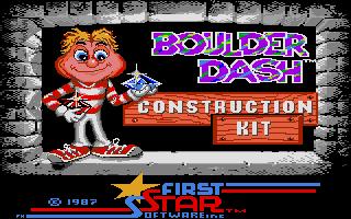 Thumbnail of other screenshot of Boulder Dash Construction Kit