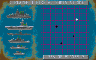 Screenshot of Battleships