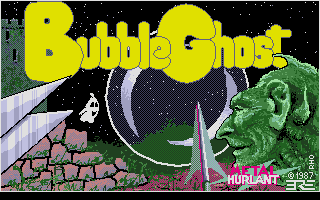 Thumbnail of other screenshot of Bubble Ghost