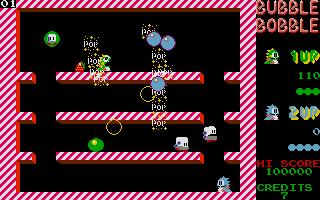 Screenshot of Bubble Bobble