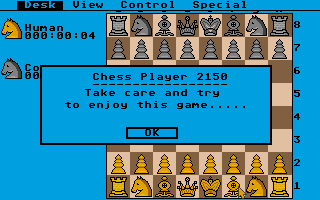 Thumbnail of other screenshot of Chess Player 2150