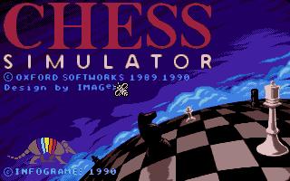 Screenshot of Chess Simulator