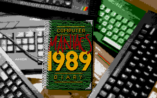 Thumbnail of other screenshot of Computer Maniacs Diary 1989