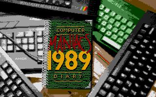Screenshot of Computer Maniacs Diary 1989