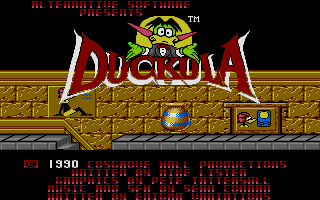Screenshot of Count Duckula